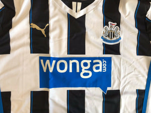 Newcastle United 2013/2014 home Size 2XL Puma 743470 jersey