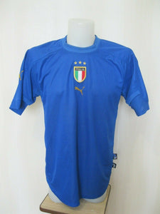 Italy national team 2004/2005/2006 home Size L Puma jersey