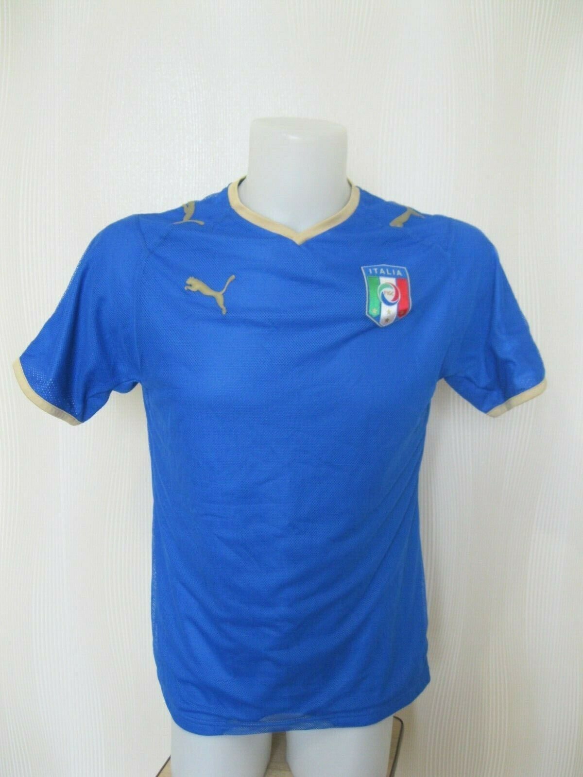 Italy team 2008/2009 home Size S Puma 733916 jersey
