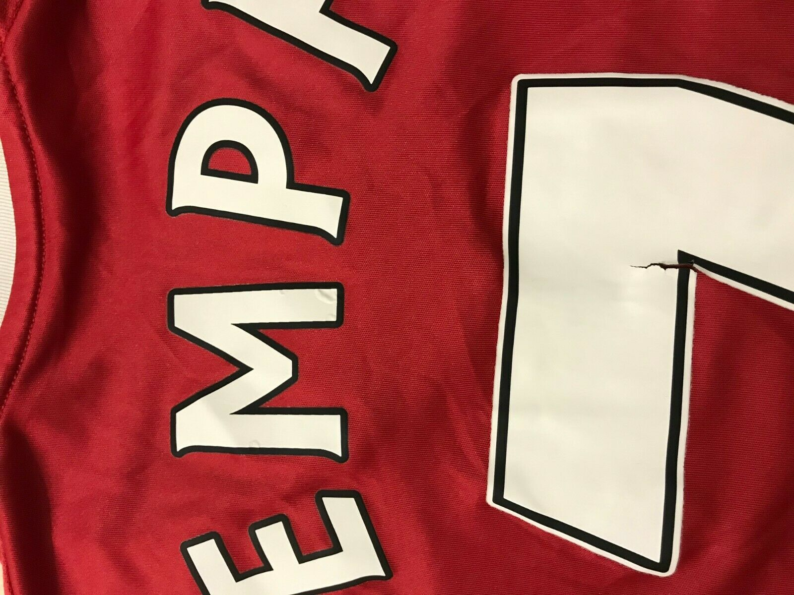 Manchester United #7 Memphis Depay 2015/2016 home Size S Adidas AC1414 jersey