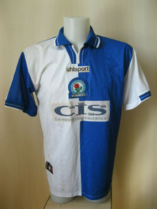 Blackburn Rovers 1998/1999/2000 Home Size L Uhlsport jersey