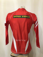 Load image into Gallery viewer, Scurlets Size L Kooga long sleeves jersey Welsh Rugby Union