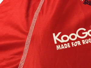 Scurlets Size L Kooga long sleeves jersey Welsh Rugby Union
