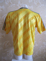 "Load image into Gallery viewer, Sweden national team 1989/1990 Home Size 44/46"" jersey Adidas"