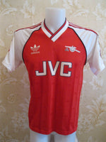 "Load image into Gallery viewer, Arsenal 1988/1989/1990 Home Size M (38-40"") Adidas jersey"
