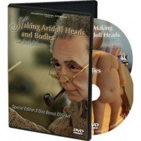 Jack Johnston: Making ArtDoll Heads and Bodies (2 DVDs!)