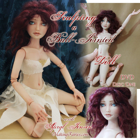 Sculpting a Ball-Jointed Doll (3 DVDs)