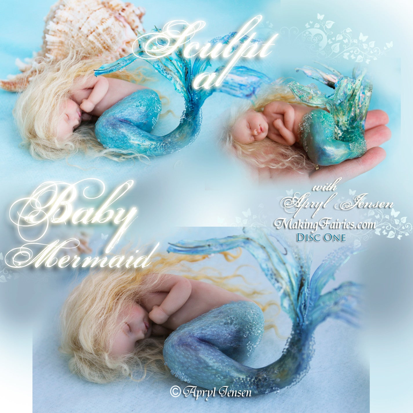 Sculpt a Baby Mermaid