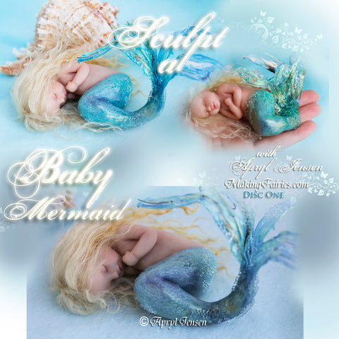 Sculpting a Baby Mermaid (3 DVDs)