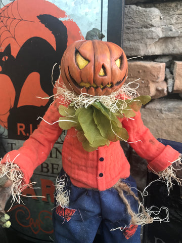 Scare Crow Man Art Doll Kit