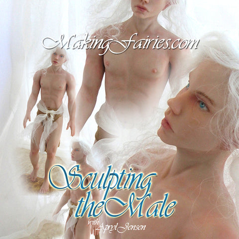 Sculpting the Male Fairy PDF Booklets (CD-Rom)