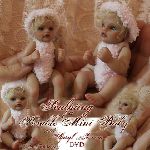 Posable Mini Baby - First Day of Christmas! Free with any Purchase!