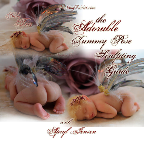 Adorable Tummy Pose PDF Booklet & Ear Video (CD-Rom)