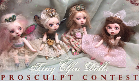 Tiny Elfin Doll Kit