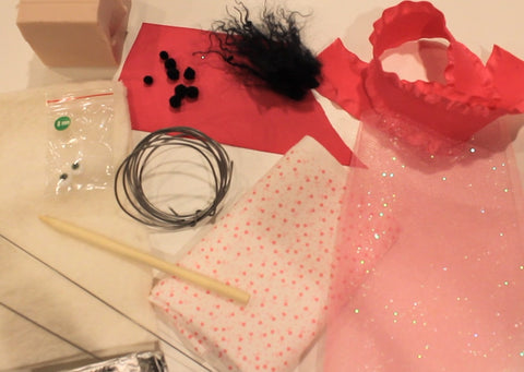 February 2019 SculptBox: Valentine Clown Kit