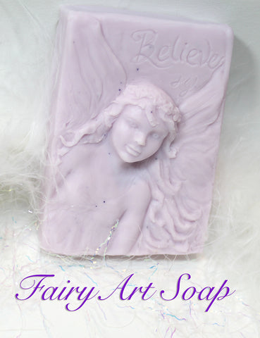 Hand-casted Fairy Soap