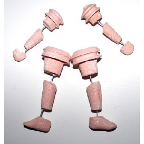 Half-Scale Baby Body (Preemie) Limbs Armatures