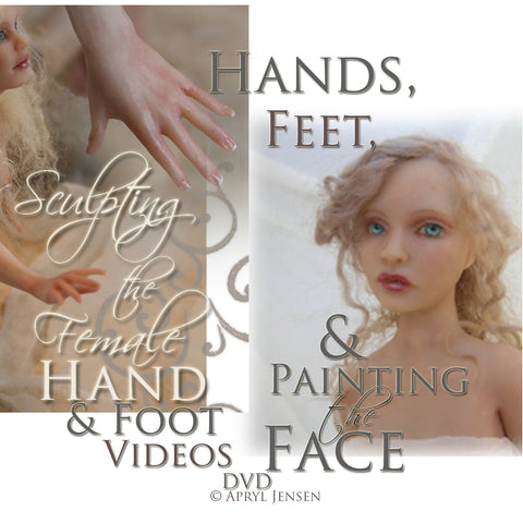 Sculpting Hands and Feet and Painting the Face - DVD