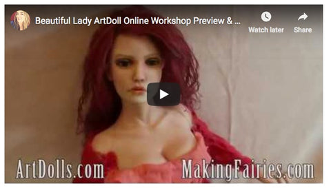 Beautiful Lady 8 hour DVD Workshop & Supply Kit!