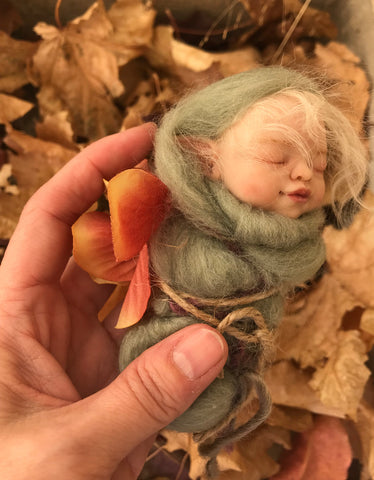 "SculptBox: ""Swaddled Fairy Baby"" Kit"