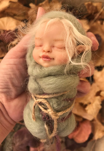 "SculptBox: November 2018 ""Swaddled Fairy Baby"" Kit"