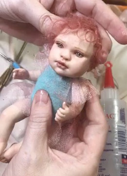 SculptBoxes: Posable Mini Baby Doll