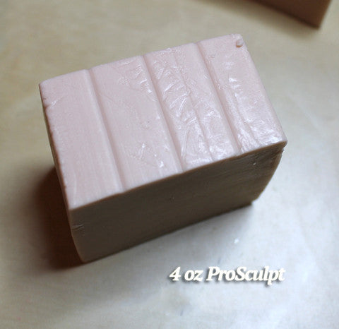 "ProSculpt Polymer Clay Sample - 4 oz ""Baby"""