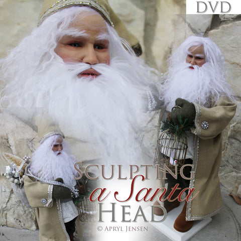 Sculpting a Santa Head DVD