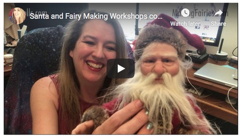 Father Christmas Workshop 5 DVDs & Sculpting Kit