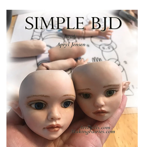 Sculpt a Simple BJD Kit with DVD