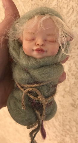 "SculptBox: November 2018 ""Swaddled Fairy Baby"""