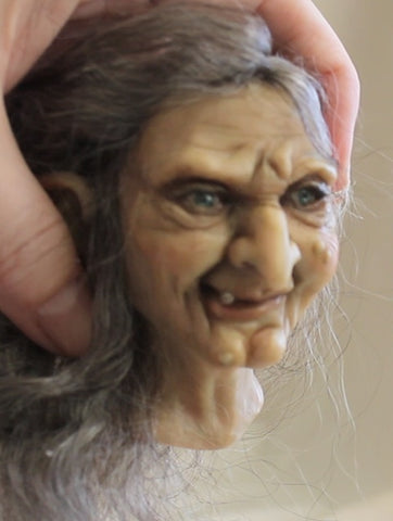SculptBoxes: Witch Bust