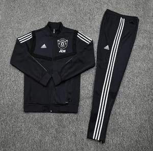 Manchester United Black Training Kit