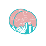 LSH Signature Mountain Sticker - Pink