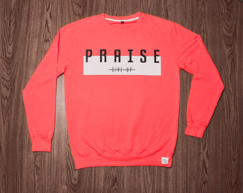 Praise! DON'T GIVE UP | Crewneck
