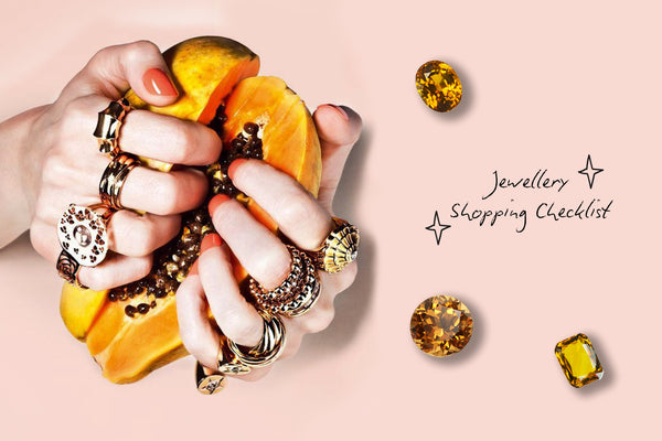 Jewellery Shopping: 5 Categories to Know