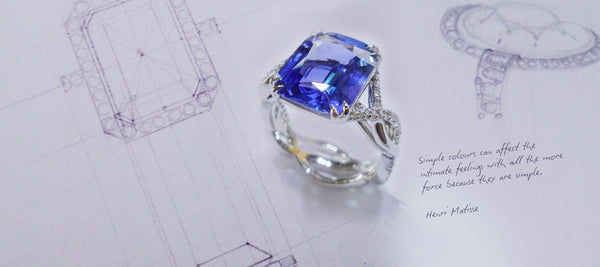 How to buy blue sapphires for your bespoke jewellery piece