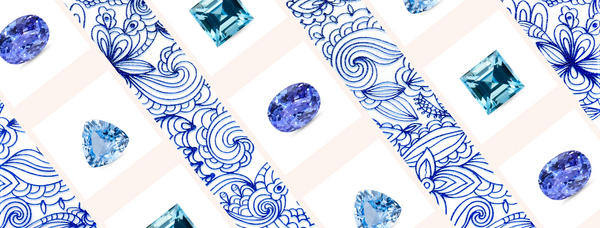Blue Gems for your Chic Engagement or Bridal Jewellery