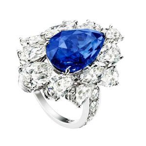Piaget High Jewellery Blue Sapphire Ring