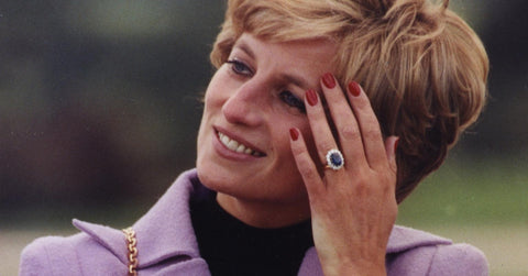 Lady Di Sapphire Engagement Ring