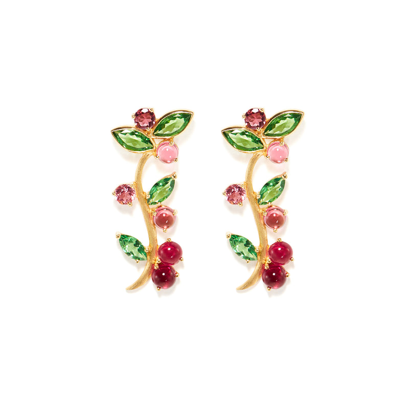 Bed of Roses Earrings