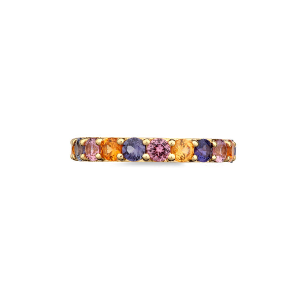 Coloured Eternity Ring