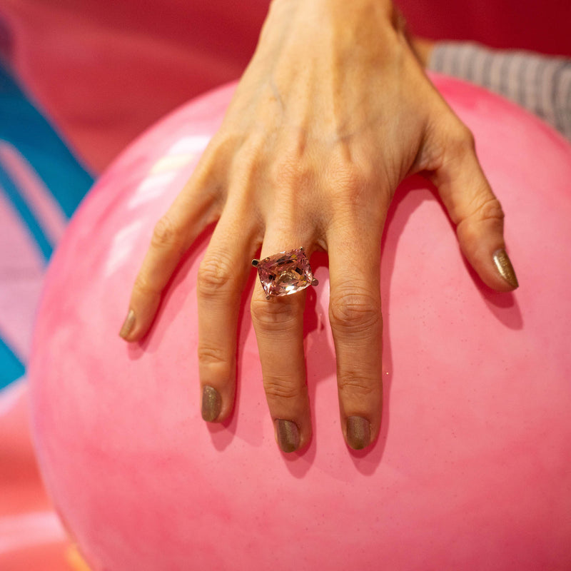 Sweet Pink Bomb Ring