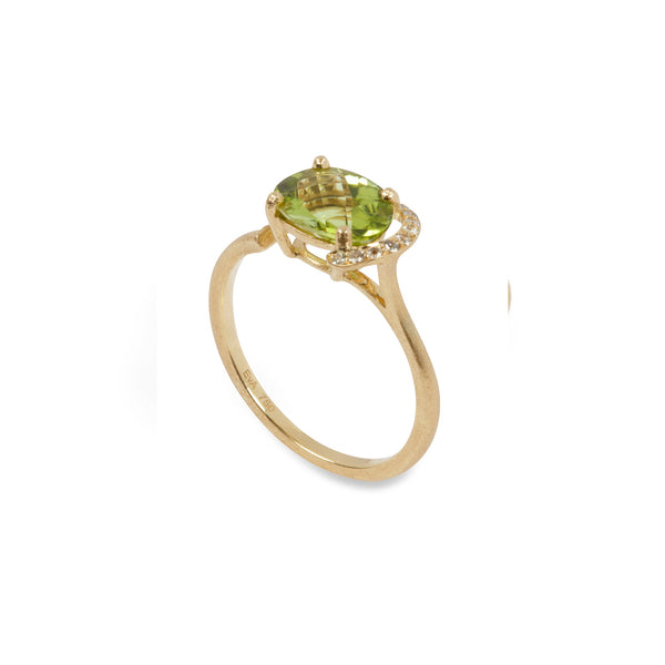 Urban Jungle Peridot Ring