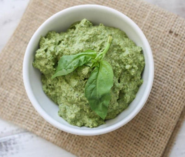Lemon & Hemp Seed Pesto