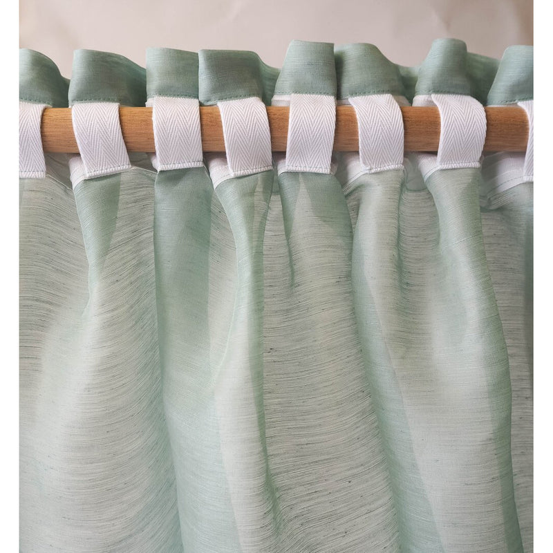 Hemp Sheer Linen Curtains