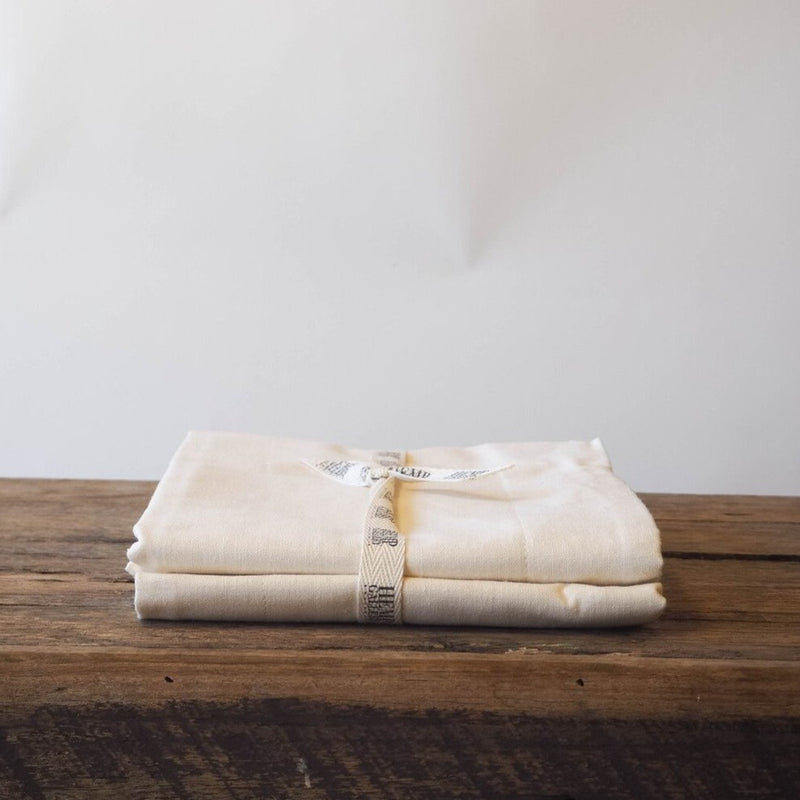 Set of 2 Hemp Linen Oxford Pillowcases