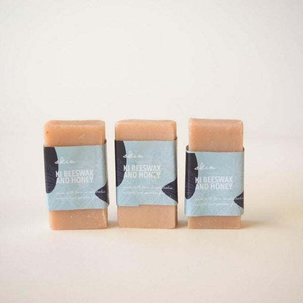 KI Beeswax Honey Soap Bar