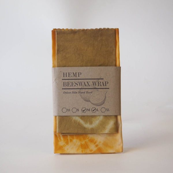Hand Dyed Beeswax Wraps