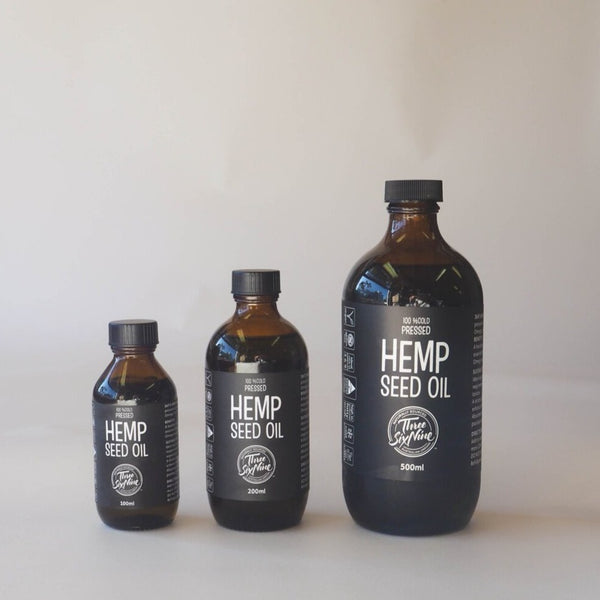 Australian Grown Hemp Seed Oil